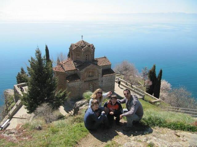 iglesia de San Juan Kaneo - qué visitar en Ohrid