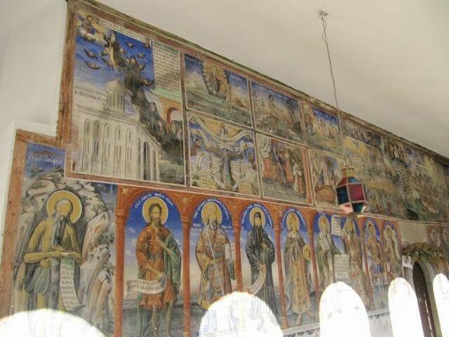 viaje a Macedonia Monasterio de San Juan Bautista, o de Sveti Jovan Bigorski
