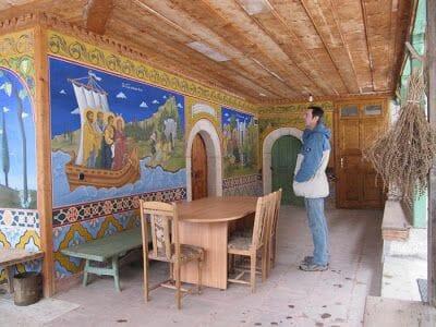 pinturas Monasterio de Preobrazhenski