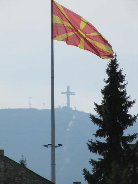 cruz de skopje qué ver en Macedonia