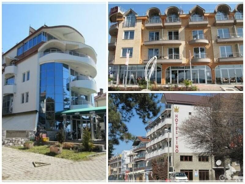dónde alojarse en Ohrid