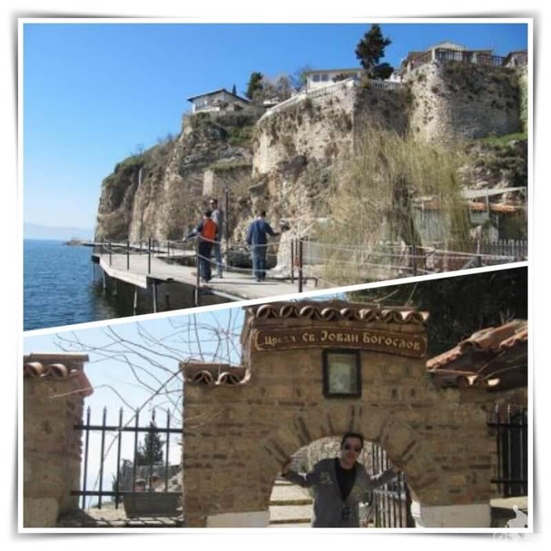 iglesia de San Juan Kaneo - qué ver en Ohrid