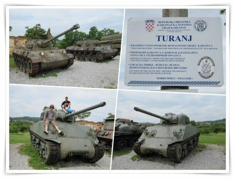 museo guerra karlovac turanj