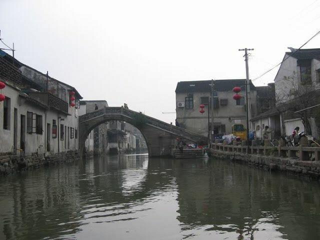puentes canales de Suzhou