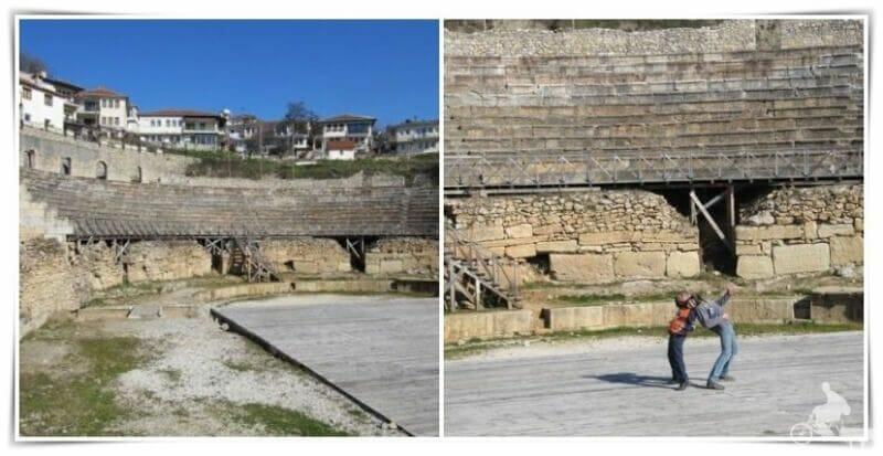 teatro griego de ohrid
