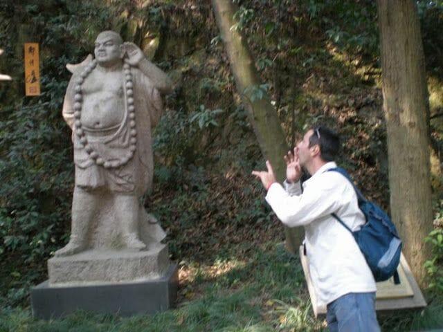 fotos haciendo el turista