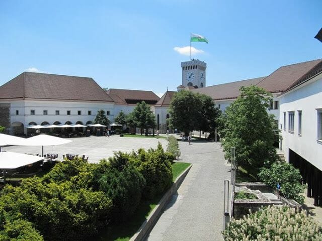 castillo de Liubliana