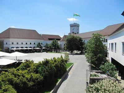 castillo de liubliana, ljubljana castle, castillos de eslovenia