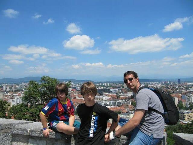 vistas castillo de Liubliana