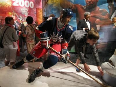 hockey madame tussaud