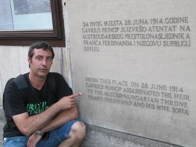 Sarajevo como inicio Primera Guerra Mundial