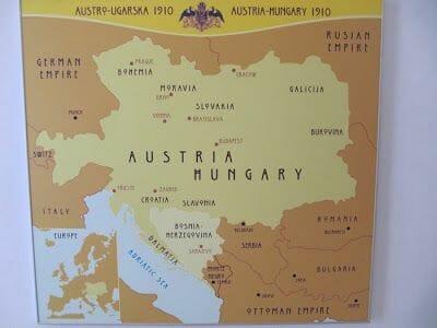 mapa imperio austro húngaro