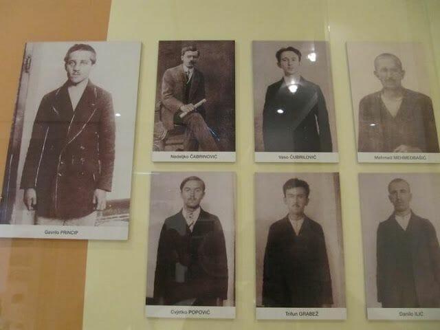 autores atentado de Sarajevo