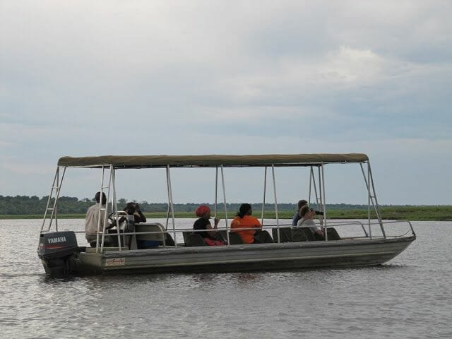 barca safari, sunset cruise botswana