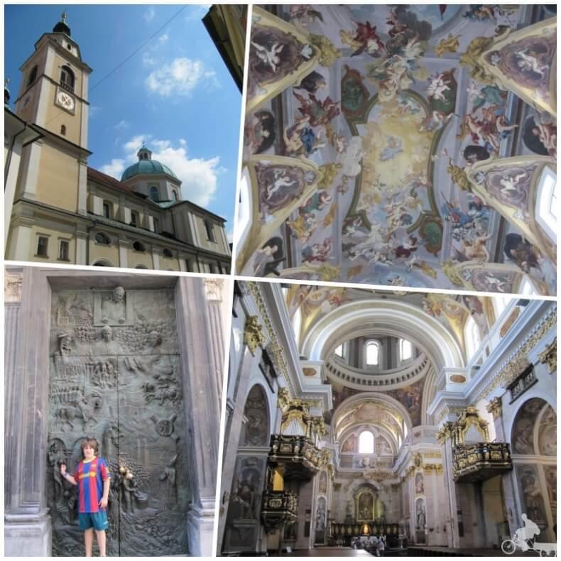catedral de San Nicolás que ver en Liubliana