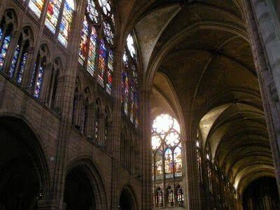 nave catedral de Saint Denis
