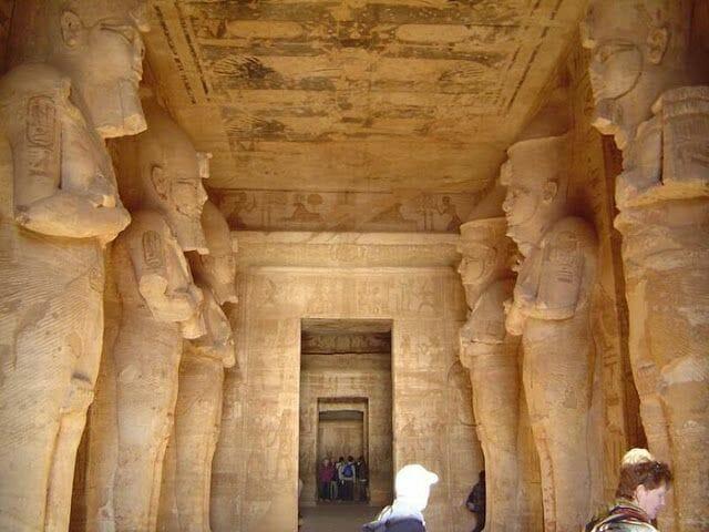 Pronaos de Abu Simbel