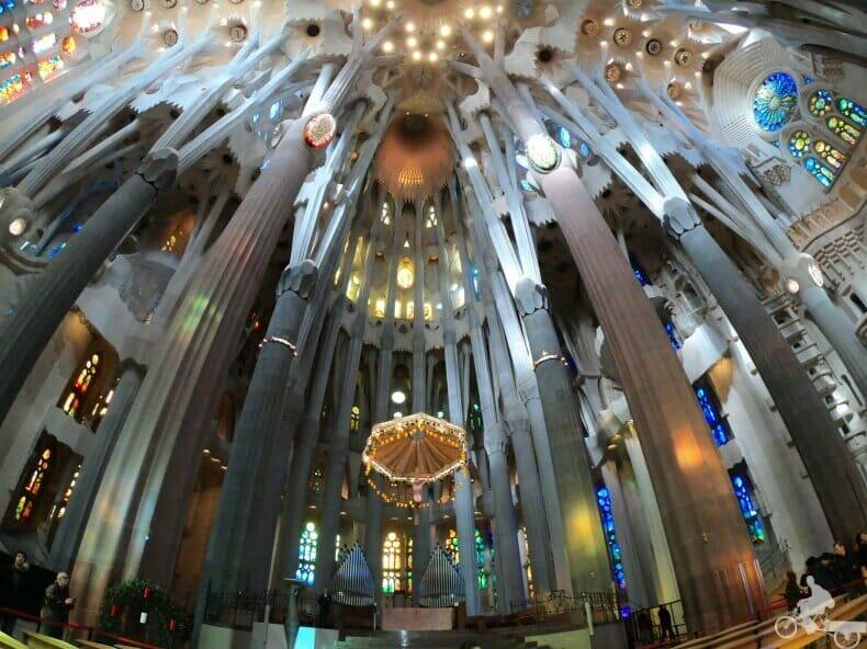ábside - interior Sagrada Familia