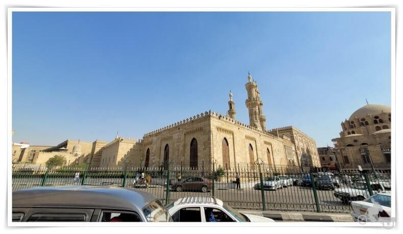 edificio mezquita Al Azhar