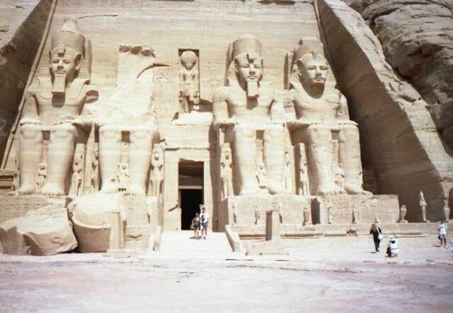 Fachada de Abu Simbel