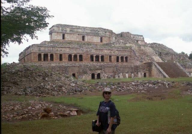 Palacio principal de las Ruinas de Sayil