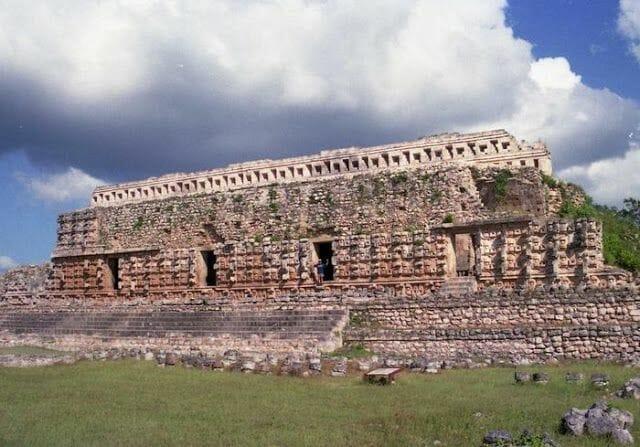 Ruinas de Kabah en la Ruta Puuc