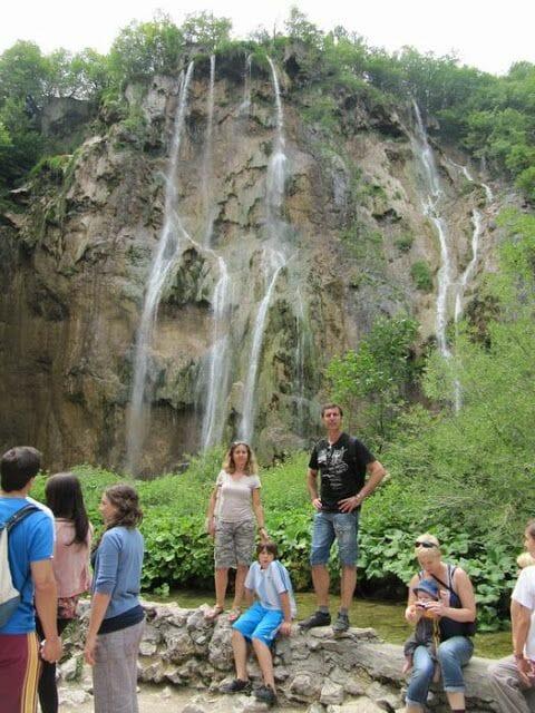 la gran cascada Veliki Slap