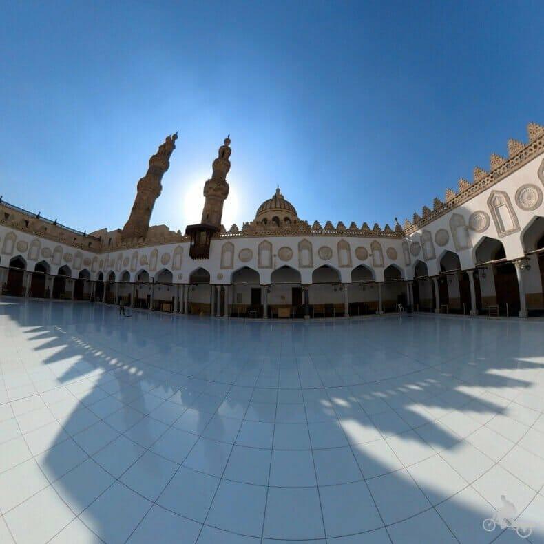 patio principal mezquita Al Azhar