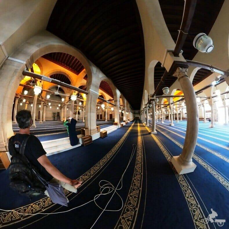 sala oracion mezquita Al Azhar