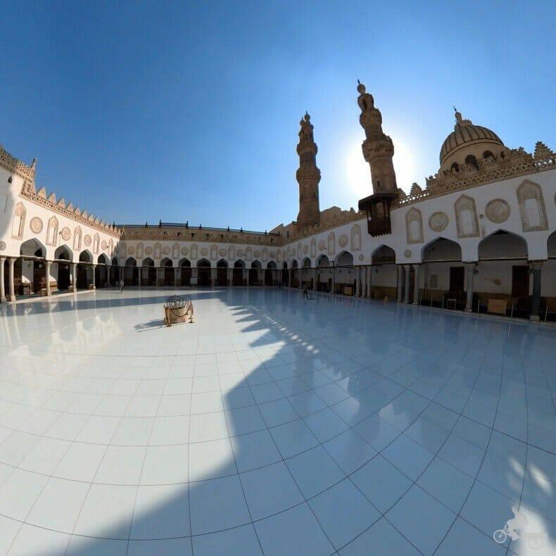 patio mezquita Al Azhar