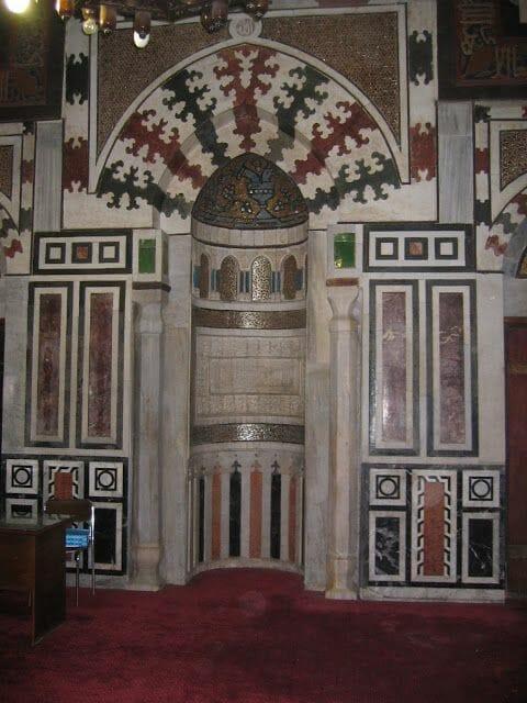 mirahb de la mezquita Al-Azhar