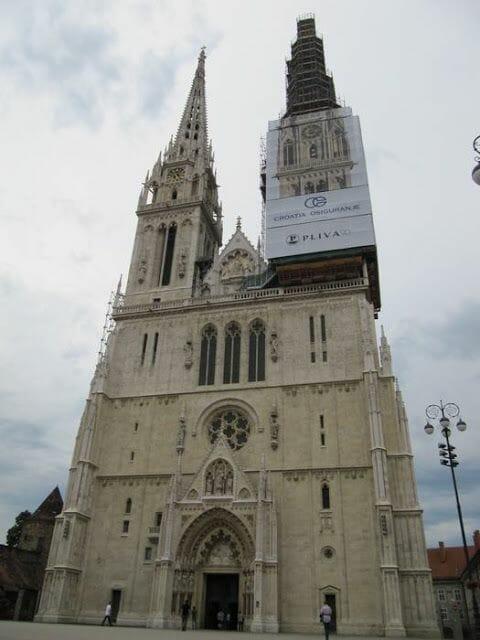 catedral de zagreb, catedral croata