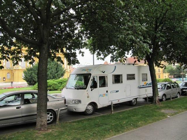 autocaravana por croacia