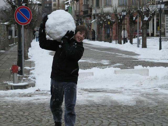 viaje a Bulgaria nieve