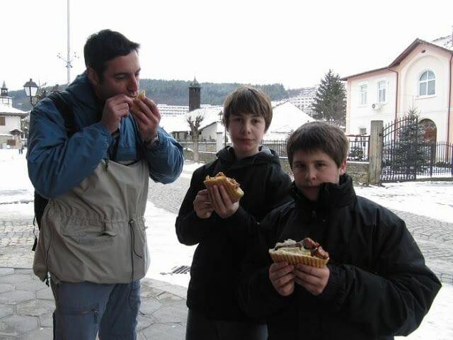 comida viaje a Bulgaria