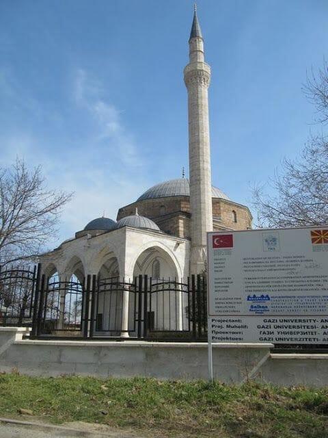 Mezquita de Mustafa Pasha