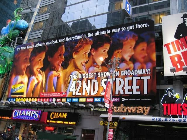 42 street broadway