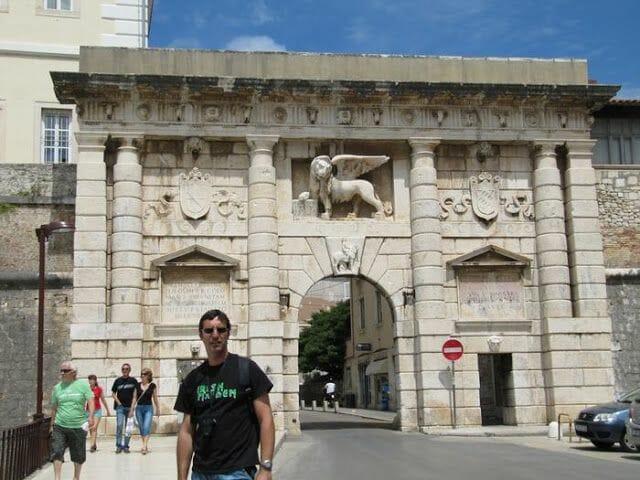 Puerta de Zara o Puerta Terraferma