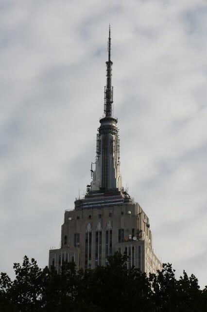 antena del Empire State building