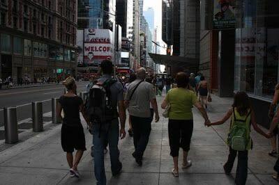 paseando por la calle 42