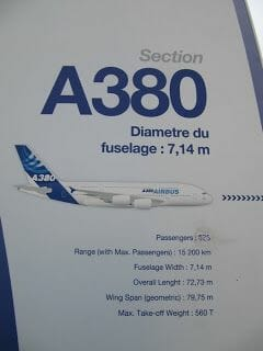 CIRCUIT AIRBUS A380