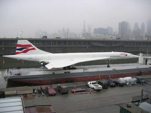 Concorde en el Intrepid sea air and space museum