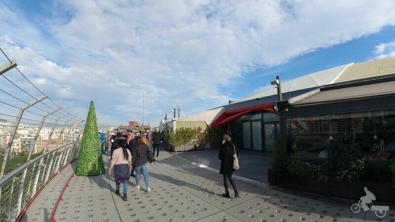 mirador centro comercial Las Arenas