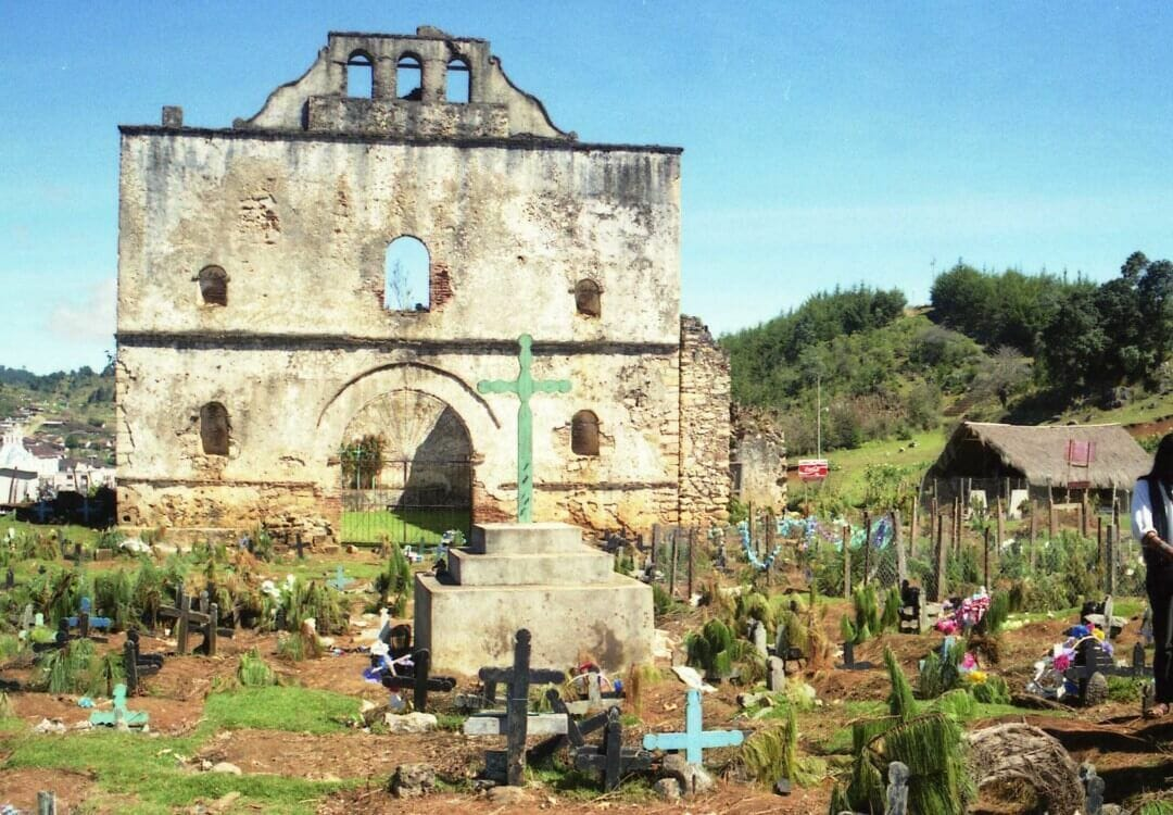 antigua iglesia de San Juan Chamula