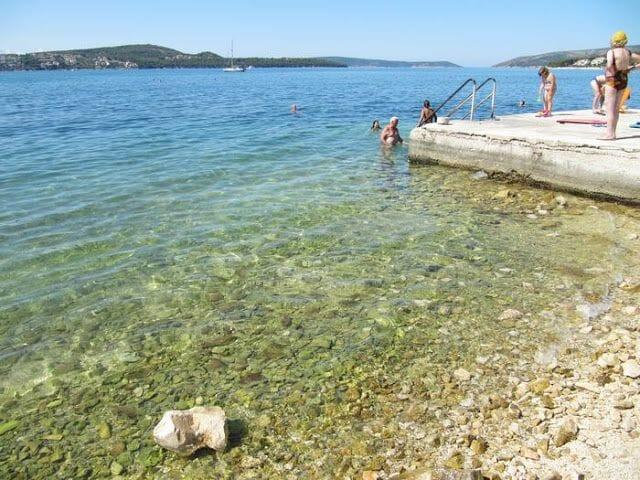 playa Croacia