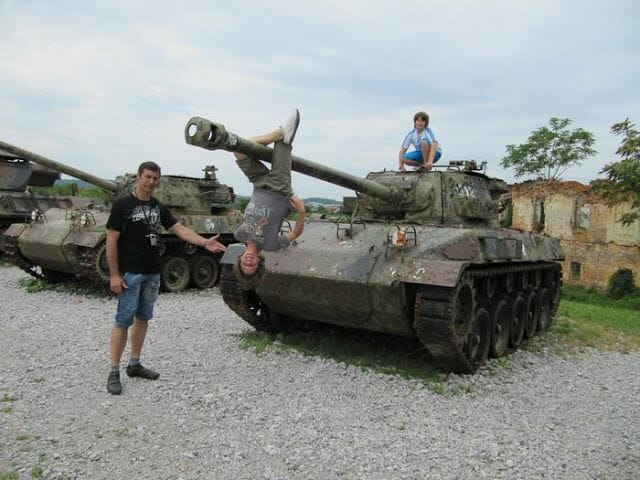 museo militar al aire libre croacia