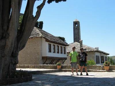 torre del reloj de Pocitelj