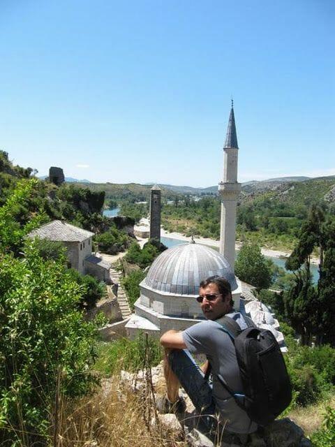 vistas del pueblo de Pocitelj