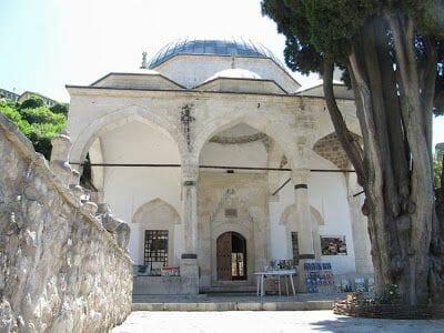 mezquita del pueblo de Pocitelj