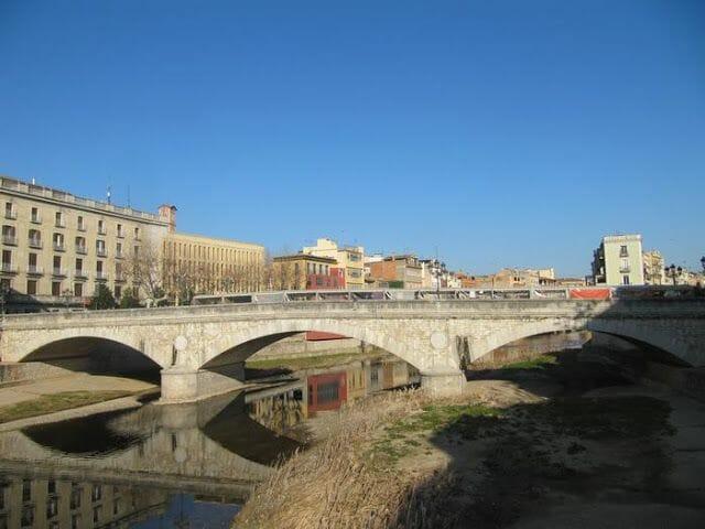 río Onyar puentes